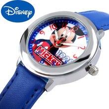 Оригинальные детские часы disney для девочек и учеников начальной