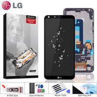 ORIGINAL 5.5 IPS Display For LG Q6 LCD with Touch Screen Digitizer for LG G6 Mini LCD Display Replacement