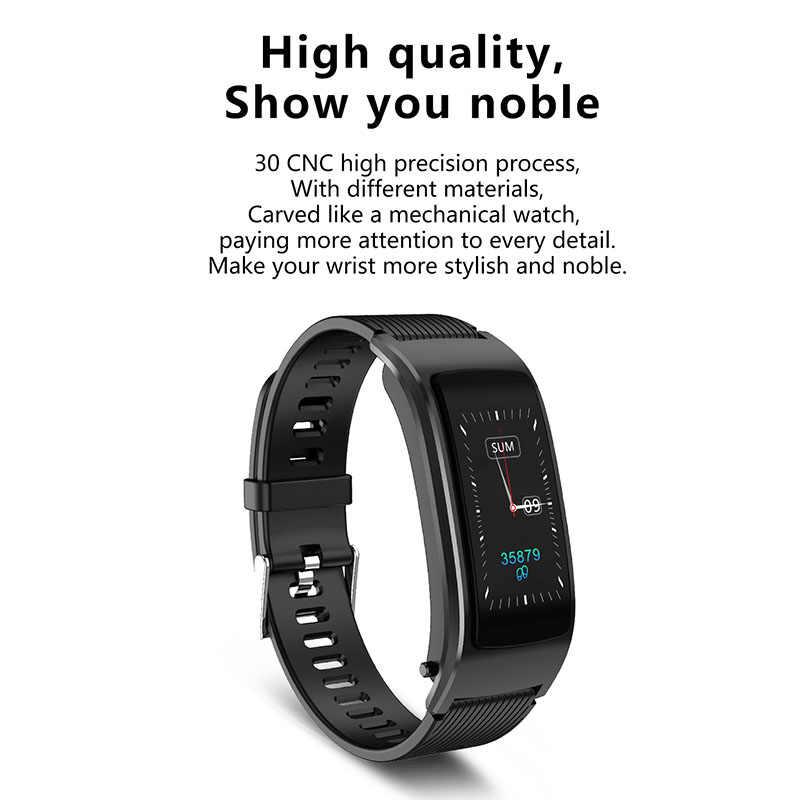 اللياقة البدنية تتبع ساعة ذكية مراقب معدل ضربات القلب بلوتوث اللاسلكية الرياضة سوار ذكي SP99
