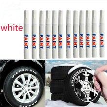 Белый Водонепроницаемый резиновые маркер с перманентной краской ручка автомобиля толщина протектора на окружающую среду фломастер для ок...