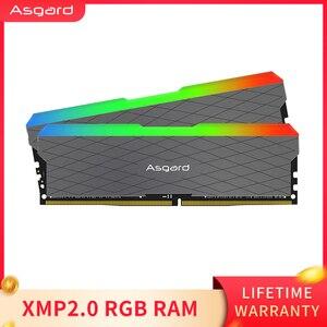 Image 5 - Asgard Loki w2 RGB 8GB * 2 32g 3200MHz DDR4 DIMM 288 핀 XMP 메모리 램 ddr4 데스크탑 메모리 램 컴퓨터 게임 듀얼 채널