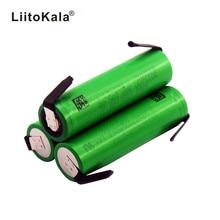 Liitokala VTC6 30A décharge 3.7V 3000mAh 18650 Li ion batterie US18650VTC6 + bricolage Nickel feuilles