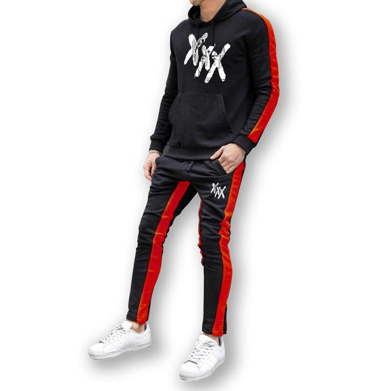 Hot Sale Xxxtentacion Hoodies Men  Warm Pullover Front Pocket Streetwear Cotton Sweatshirt Hip Hop Outerwear Drop Shipping