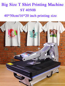 T-Shirt Printer Heat-Press-Machine Multifunction Rock/glass Without ST-4050B 40x50cm