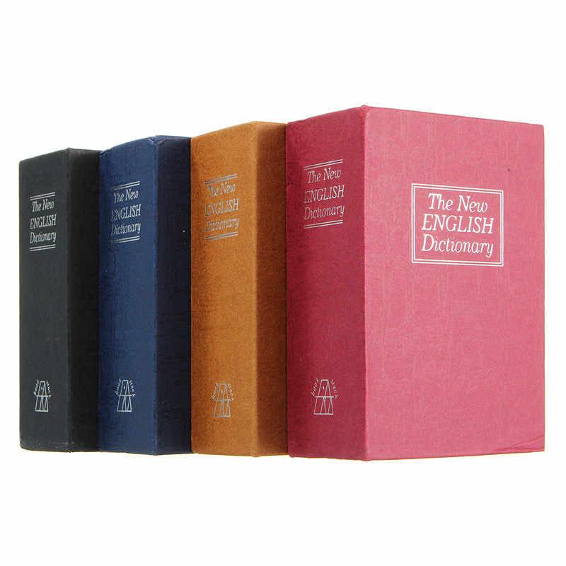 Zamek kluczowy Drop Shipping przechowywanie w domu sejf słownik Book banku pieniądze gotówka biżuteria ukryty tajny schowek bezpieczeństwa z 2 sztuk