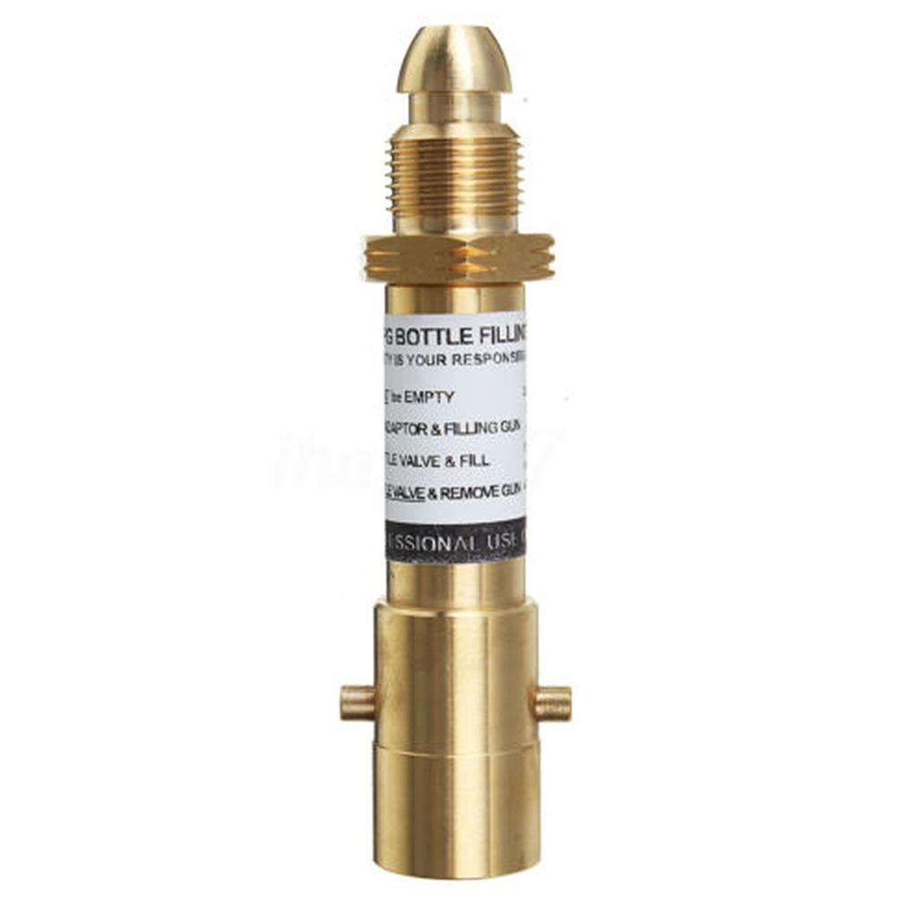 Newest Propane Bottle Replacement Brass <font><b>Adapter</b></font> for LPG <font><b>GPL</b></font> Gas Bottles #40 image