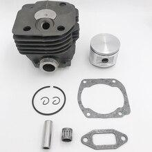 Поршневые кольца цилиндра 48 мм, 50 мм, 52 мм, Комплект прокладок подшипников для HUSQVARNA 365, 362, 372, запчасти для двигателя бензопилы