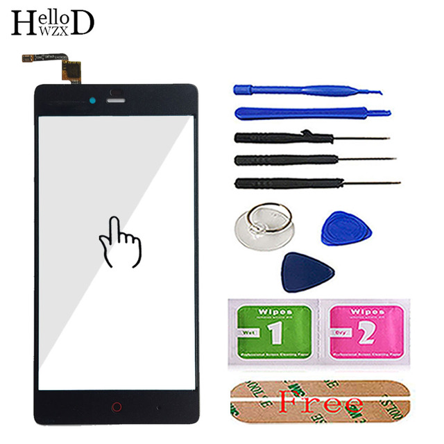 Touch Screen For ZTE Nubia Z9 Mini NX511J For ZTE Nubia Z9 Max NX510J Front Touch Screen Glass Digitizer Panel Sensor Tools