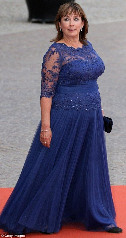 H Mother Of The Bride Dresses Scoop Neck Half Sleeve Royal Blue Plus Size High Quality Groom Mother Vestido De Madrinha Farsali
