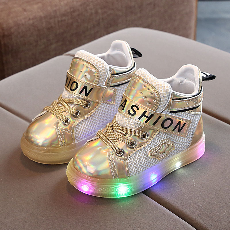 Kids Light Sneakers Korean Version