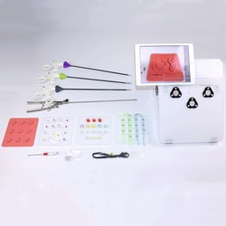 Лапароскопический тренажер, тренировочная коробка, лапароскопические хирургические инструменты, разделительные щипцы/зажим/ножницы, обуч...