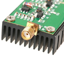 2MHZ-700MHZ 3W HF VHF UHF FM Transmitter Broadband RF Power Amplifier Ham Radio Adopts high quality circuit board, stable and re digital transmission rf microwave broadband high frequency high linear power amplifier 30 1200mhz 0 2w