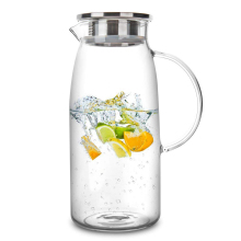 1300/1500/2000ml прозрачный Стекло Кувшин Горячая/холодной воды чайник-кувшин для воды для сока бутылки