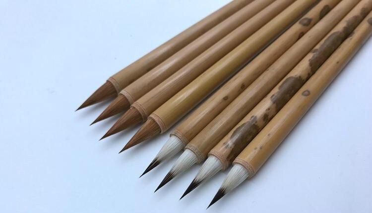 escova de cabelo pintura chinesa roteiro regular