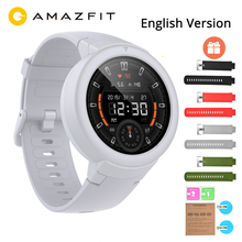 "English Huami Amazfit Verge Lite GPS Smart Watch IP68 1.3"" AMOLED Screen 20 Days Battery Life Verge Lite Wristwatch"