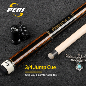 цена на Offical PERI XT-01Billiard Jump Cue Hand inlay13.8mm Tip Carbon Ferrule A+ Canadian Maple Shaft Radial Pin Billiards Jump Cue