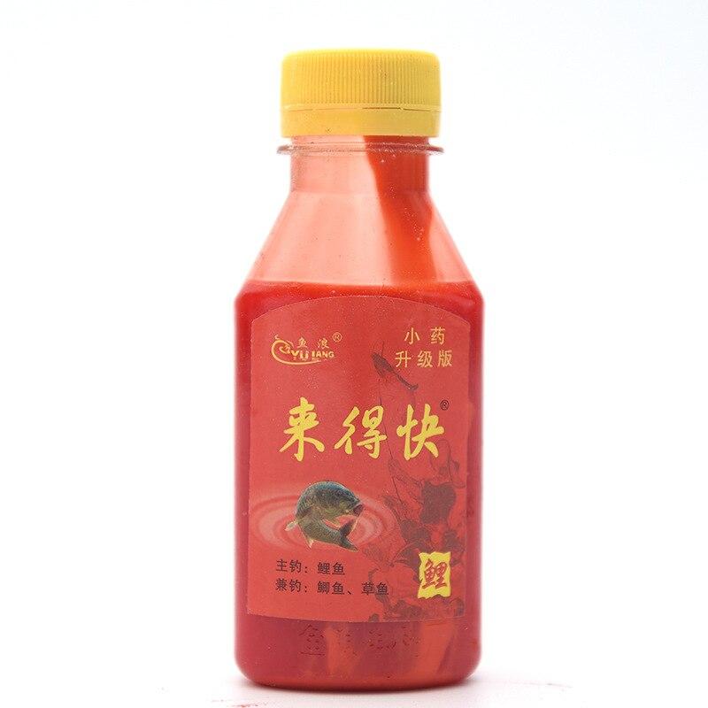 Sichuan Jianyang Faster Bait Additive Carp Fishing Small yuan jiang Liquid Medicine Bait Carp Floodlights     - title=