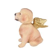 Angel Dog Bobble Head for Home Decor, Tablet Top Decortion  Statue, Auto Car Decor