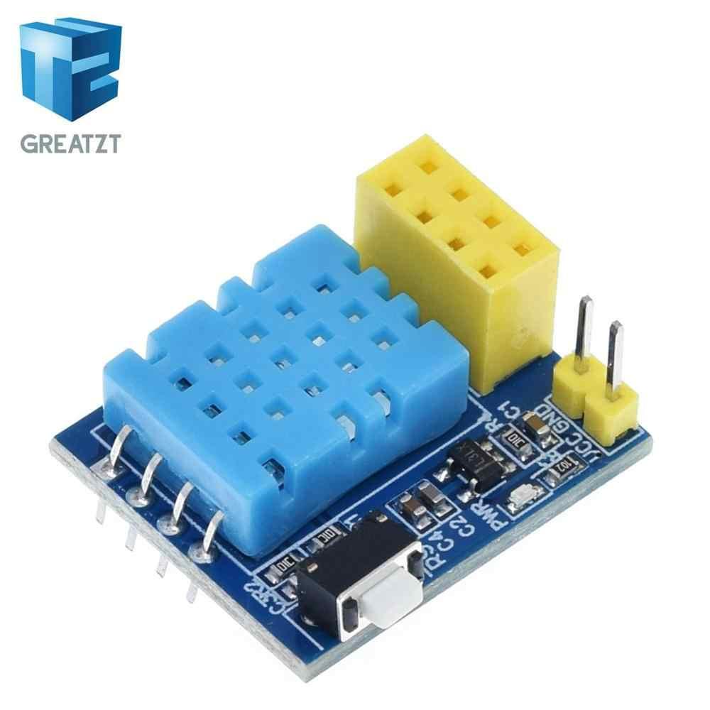 GREATZT ESP8266 5V moduł przekaźnika wifi DS18B20 DHT11 RGB kontroler led rzeczy inteligentny domowy zdalny przełącznik sterowania aplikacja na telefon ESP-01S