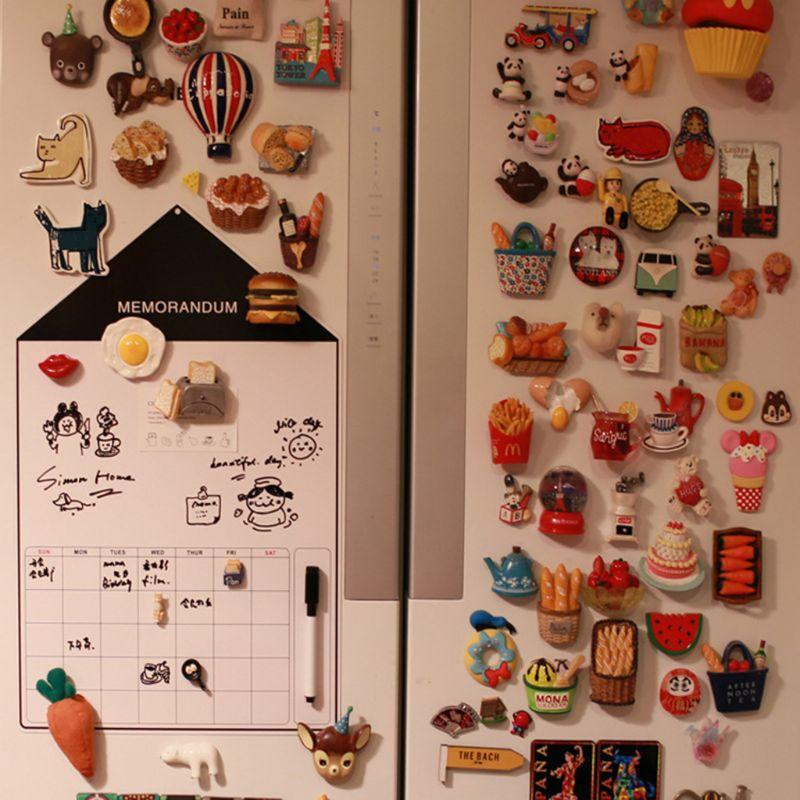 A3 Soft Magnetic Whiteboard Magnet Erase Board Drawing Refrigerator Calendar Pen M0XB