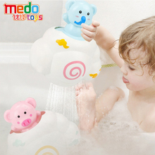 Baby Bath Toys Shower Toys for Kids Swimming Shower Funny Toy Baby Cartoon Cute Duck Pig Water Spray Sprinkler Toys for Children baby bath toy cute cartoon light music sprinkler water splash ball kids baby bath pool toy led light funny toy