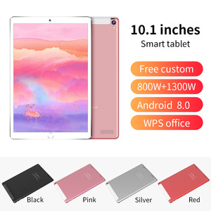 1GB + 16GB ROM 10 cal tablet PC Google play 3G 4G LTE Android 8.0 octa core WiFi GPS tabletki 10.1 IPS Dual SIM