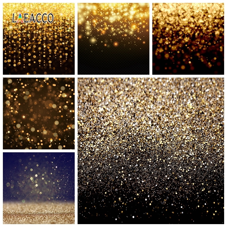 Laeacco Glitters Light Bokeh Photophone Portrait Baby Pet Photo Backgrounds Photographic Backdrops For Photo Studio Photozone