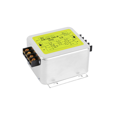 AC 380V three phase three wire terminal block purification CW12B 10A R 20A 30A40A power supply filter|Connectors| |  - title=