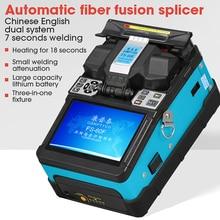 FS 60F 2019 yeni ürün COMPTYCO FTTH Fiber optik kaynak yapıştırma makinesi optik Fiber füzyon Splicer
