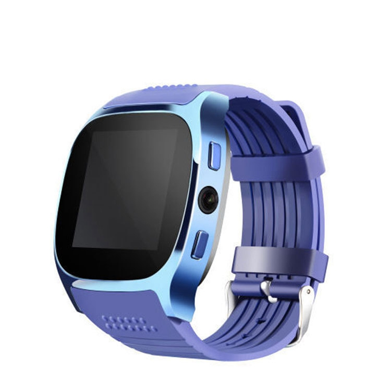 ABKT-T8 Smart Card Phone Watch Sports Bluetooth Wear Watch with Camera for Children Support SIM TF Card Call