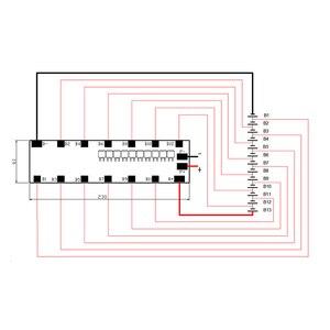 Image 5 - Celda de iones de litio 13S, 48V, 25A, BMS, soporte para 6x13w