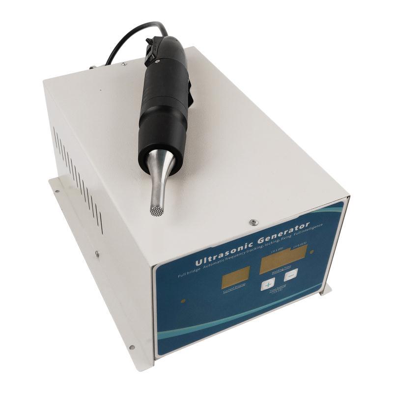 Intelligence 28KHZ Smart Ultrasonic Welding Machine For Ear Loop
