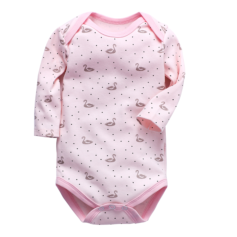 Baby Bodysuit Newborn Toddler Infant Girls Clothes Long Sleeve 3 6 9 12 18 24 Months Cotton Babies Boys Clothing