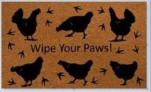 Entrance Floor Mat Non-slip Doormat wipe your paws Door Mat Outdoor Indoor Rubber Mat Non-woven Fabric Top стоимость