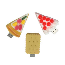 usb flash drive 128gb memory usb 2.0 16gb 4GB 8GB pen drive 16GB special pendrive 32GB 64GB wholesale Pizza food series creative hd 0102 pizza style usb 2 0 flash drive yellow white red 16gb