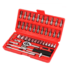 Car Repair Tool Ratchet Wrench Fast Repair Wrench Multifunction Set Auto Maintenance Car Tools Tire Removal Sleeve Tool