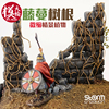 DIY Diorama Vine Tree Roots Withered Model Plant Stubble Branches Miniature Scene Soldier Simulation Camouflage Grass