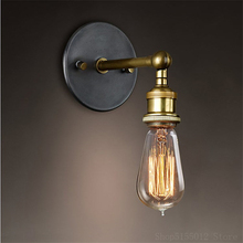 Nordic Vintage Sconce Wall Lights Bedroom Bedside Lamp Stair Light Retro Industrial Deco Home Lighting Fixtures