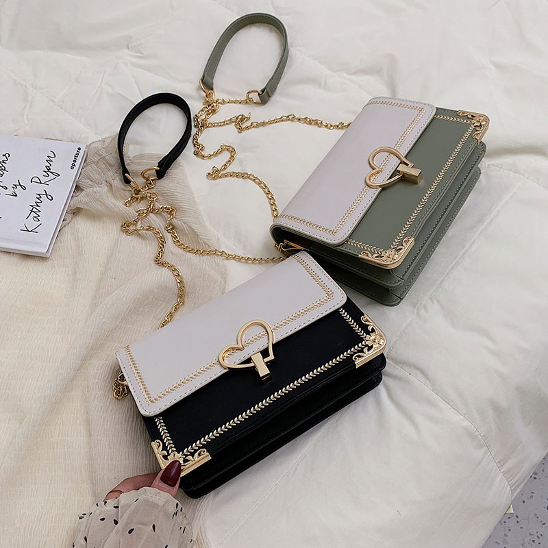 Luxury Handbags Women Bags Designer Women Bag Fashion Women Shoulder Bag Chain Crossboyd Small Square Bag in Shoulder Bags from Luggage Bags