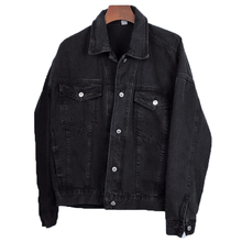 Korean Jeans Jackets and Coats for Women 2019 Black Denim Jacket