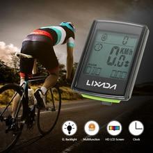 Lixada multifonctionnel 2 en 1 sans fil LCD vélo vélo ordinateur vitesse Cadence résistant à leau