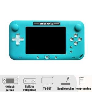 Image 2 - 2019 Mới Nhất 4 Inch Màn Hình Lớn Retro Chơi Game Cầm Tay Di Động Video Game Thủ Cho Trò Chơi NES HDMI Ra Sạc