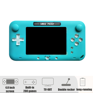 Image 2 - 2019 nieuwste 4 Inch grote Scherm Retro Handheld Game Console Draagbare video Game Player voor Nes Games HDMI Out Oplaadbare