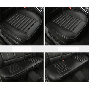 Image 4 - WLMWL Universal Leather Car seat cover for Mitsubishi outlander ASX all models lancer pajero sport pajero dazzle car styling