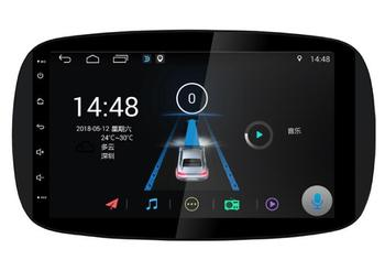 9 octa core android 10 Car GPS radio Navigation for Smart Fortwo 2016-2019 with 4G/Wifi DVR OBD mirror link 1080P image