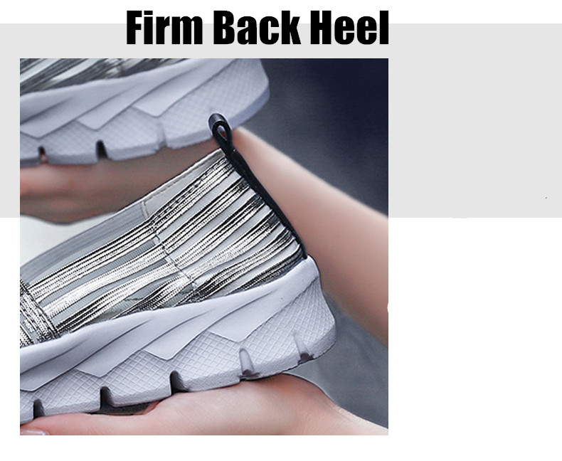 Women Flats Shoes Woman Loafers Slip-ons Platform Ballet Sneakers (13)