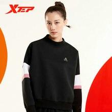 Свитер xtep пальто осень 2020 новый женский спортивный топ пуловер