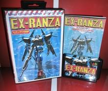 MD 게임 카드 EX Ranza Japan 박스 및 설명서 커버 MD MegaDrive Genesis 비디오 게임 콘솔 16 비트 MD 카드