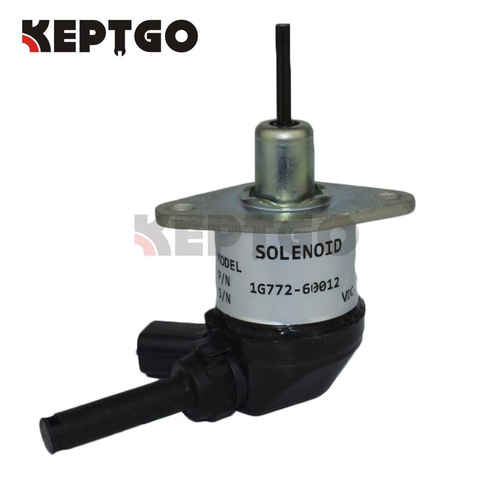 New Fuel Stop Solenoid for Kubota L3540 L3700 L3800 L3830 L39 L3940