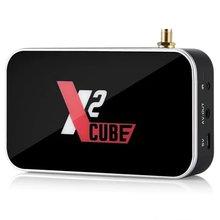Smart Android 9.0 TV Box Amlogic S905X2 2GB DDR4 16GB ROM Set Top Box 2.4G/5G WiFi 1000M Bluetooth 4K HD Media Player himedia a5 bluetooth 4 0 3d 4k smart android 6 0 tv box 2gb 16gb amlogic s912 network media player 1000m lan hdr10 set top box